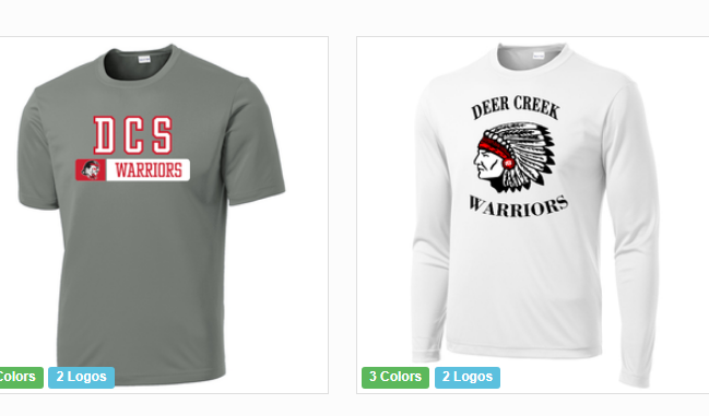 Warrior Gear orders are due Aug. 25